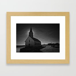 Saint Olaf Kirke Framed Art Print