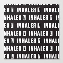 INhaler typo x1 Canvas Print