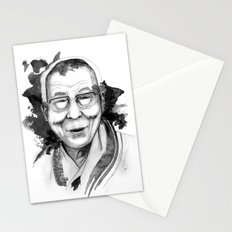 Belief & Knowledge (Dalai Lama) by carographic Stationery Cards