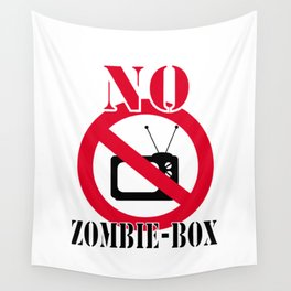 No zombie-box Wall Tapestry
