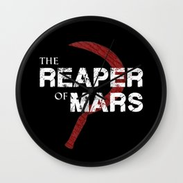 The Reaper of Mars Wall Clock