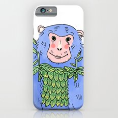 Peachtree The Chimp in Blue Slim Case iPhone 6s