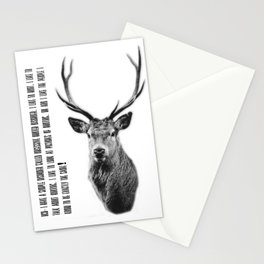 OHD - Obsessive Hunter disorder Stationery Cards