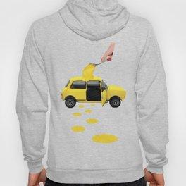 Yellow Car Hoody