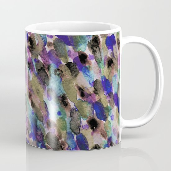 Purple and Olive Mug