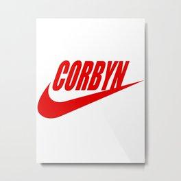 just do it corbyn Metal Print