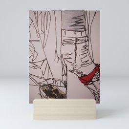 continuous kaitlyn Mini Art Print