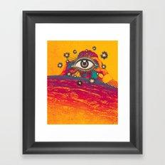 ...TUNE IN... Framed Art Print