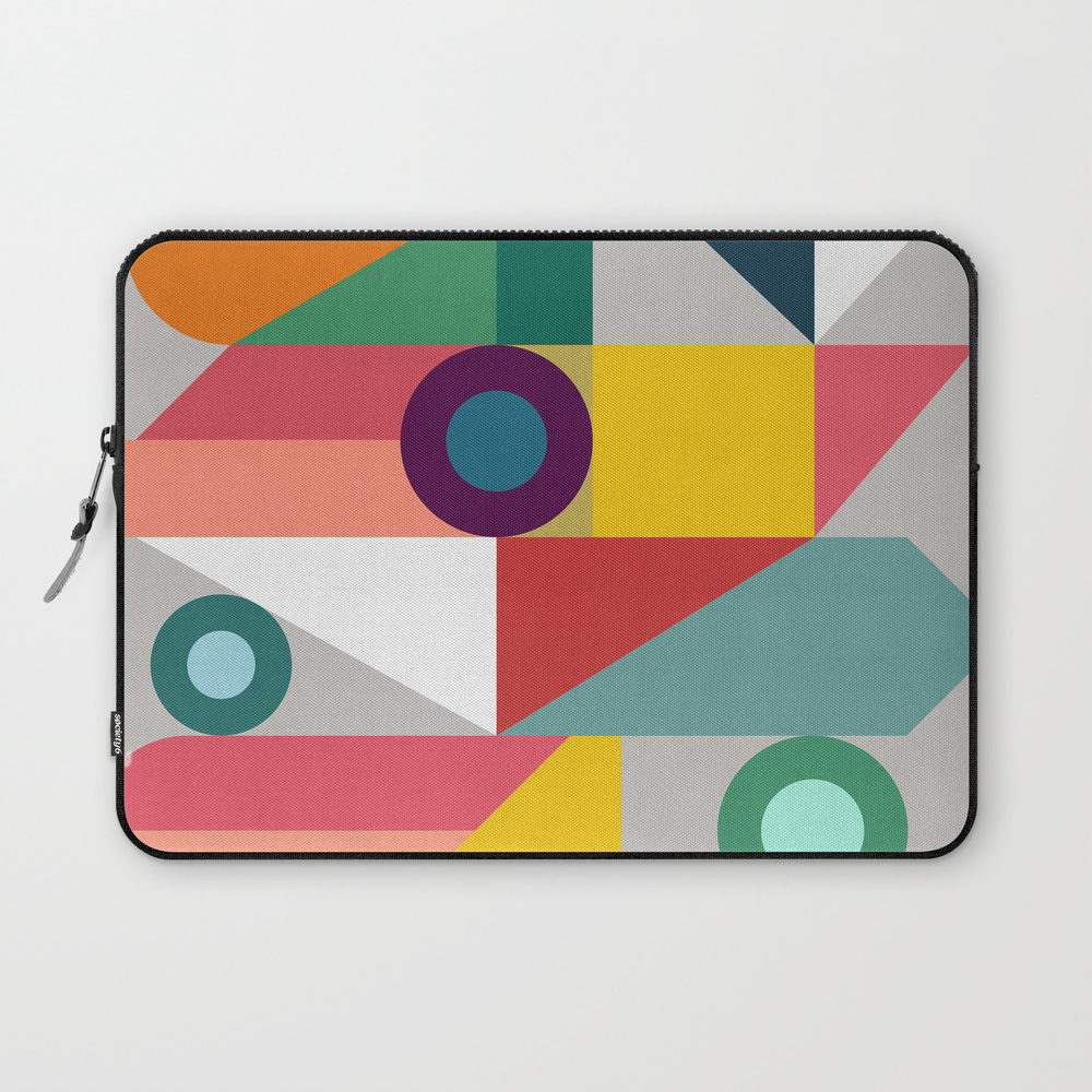Geometric And Vibrant Iii Laptop Sleeve LSV8482879