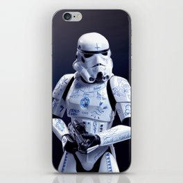 Tattooed Trooper iPhone Skin