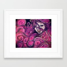 Silent Gypsy Framed Art Print