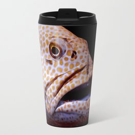Coral Grouper Being Cleaned Travel Mug