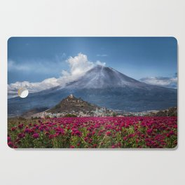 Popocatepetl Volcano Puebla Mexico Cutting Board