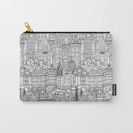 San Francisco in Grey Carry-All Pouch