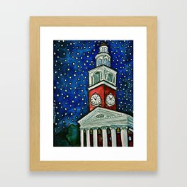 Ira Allen Chapel Framed Art Print