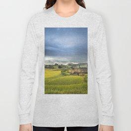 Vietnam Rice Cultivation Long Sleeve T-shirt