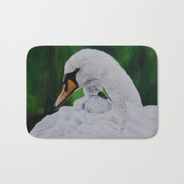 Well Protected by Teresa Thompson Bath Mat