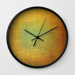Abstract aged linen texture Wall Clock