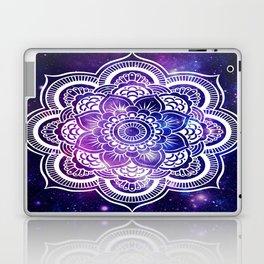 Mandala purple blue galaxy space Laptop & iPad Skin