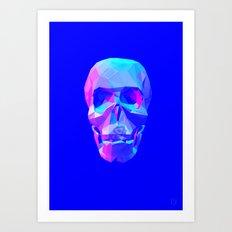 Skull-(normal) Art Print