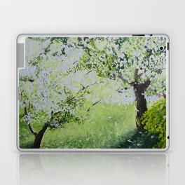 White Spring Laptop & iPad Skin