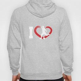 I Heart Running Fitness Run Exercise Health Runner Gift Hoody