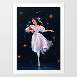 Midnight Dance Art Print