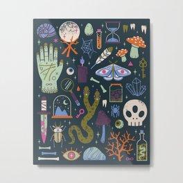 Curiosities Metal Print
