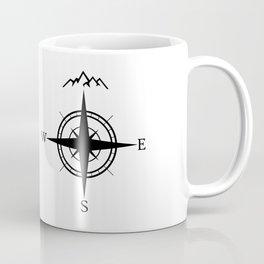 Mountain Compass Coffee Mug