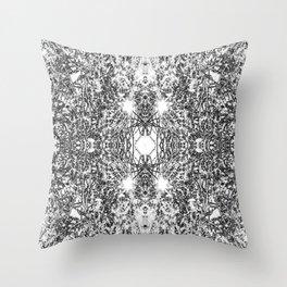 Hidden Image Branches Throw Pillow