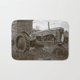 Vintage Tractor Farm Hopkinton New Hampshire Bath Mat