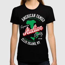 Italian American - Ellis Island T-shirt
