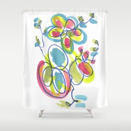 Entwining Vines Shower Curtain