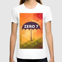 Zero 7 Poster - Sia Furler Mozez Jose Gonzalez Umbrella Print Rain T-shirt