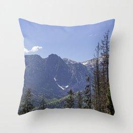 Zanopane. Throw Pillow