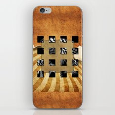 SQUARE AMBIENCE iPhone & iPod Skin