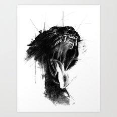 The Untamed Art Print