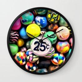 Super Balls  Wall Clock