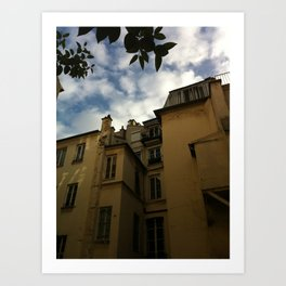 L'apart a Paris Art Print