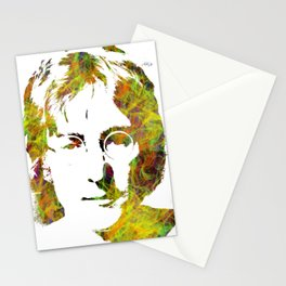 John Lenon WaterColor Stationery Cards