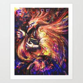 Proclamation of Ashes Art Print