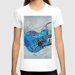Blue Electric Guitar T-shirt