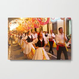 Festival in Azores islands Metal Print