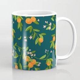 Citrus Tree - Navy Coffee Mug