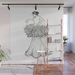 Flamenco dancer Wall Mural