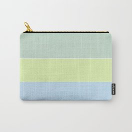Summer Stripes Design Carry-All Pouch