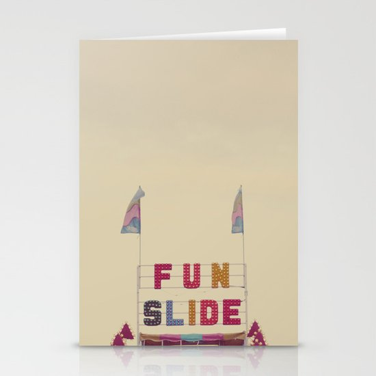 Fun Slide Stationery Cards