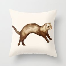 Bounce! Throw Pillow