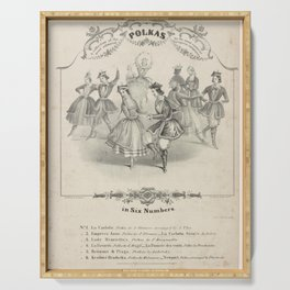 Grisi Carlotta  DA collection of the most admired polkas by the most eminent European composers in six Numbers No  Empress Anne polka by J StraussLa Carlotta Serving Tray