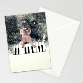 The three little pigs (ANALOG zine) Stationery Cards